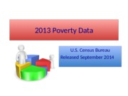 Lecture Notes on Poverty Data 2013