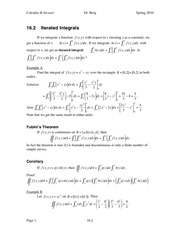 Calculus II Notes 16.2