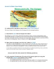 The Ganges Case Study.docx