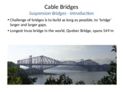 CIVE 704 Cable Bridges J.Raimbault