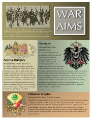 War Aims WWI
