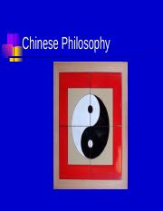John Provost Lecture-Chinese Philosophy09.ppt