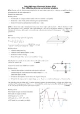 2010_Topic 1 Test_marking scheme & solutions