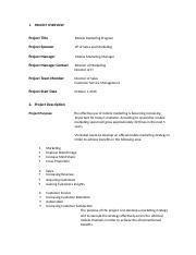 charter plan marketing project management.docx