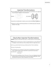 Lesson 19b - Injections, Surjections, and Bijections