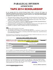 Scholarship Application for TAPS 2014.pdf