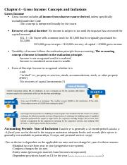 Ch. 4 Gross Income- Concepts & Inclusions.docx