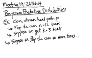 Lecture 19 on Predictive Distributions