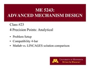 Lecture 23 on Advanced Mechanism Design