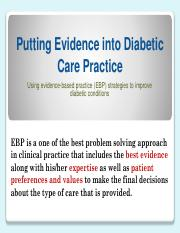 Solution-evidence based diabetes pdf format.pdf