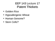 EEP 143 Lecture 17 07