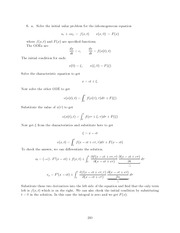 Differential Equations Lecture Work Solutions 240
