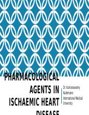 Pharmacological agents in ischaemic heart disease
