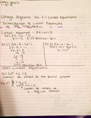 College Algebra section 1.1 Notes.pdf
