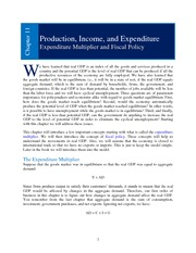 Chapter 11 _Production. Income, and Expenditure_