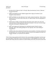 Geog 152 Final Exam Questions.docx