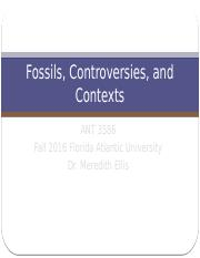 Fossils, Controversies, and Contexts-- Class 2 (1)