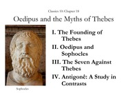 Ch18- Oedipus and Thebes