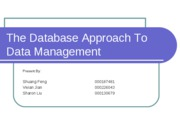 G4 The Database Approach To Data Management[1]