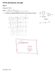 Exam 3 Solutions Spring 2013