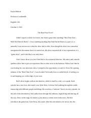 Kayla Rideout - Evaluation Essay.docx