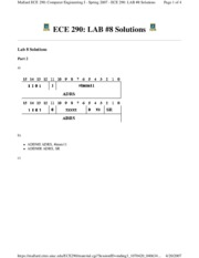 ECE 290_ LAB #8 Solutions