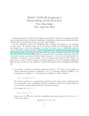 el6013-matlab-assignment-2 pdf - EL6013 MATLAB Assignment 2