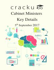 Cabinet Ministers of India cracku pdf.pdf
