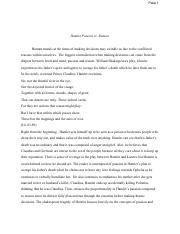 becoming hero in william shakespeares hamlet essay Category: gcse english literature coursework title: free hamlet essays:  hamlet the anti-hero  becoming hero in william shakespeare's hamlet essay.