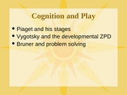 Cognition & Play1-29