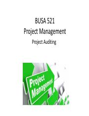 PPT 12 - Project Auditing.pdf