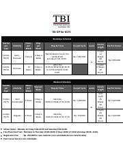 PRICE LIST IEP IELTS 2013