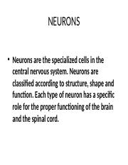 TYPES OF NEURONS PRESENTATION'.pptx