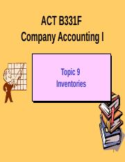 ACT B331F Topic 9 HKAS 2 Inventories 2015.pptx