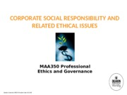 MAA350 - 2015 T2 Lecture Notes Topic 10 CSR revised