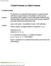 open economy vs closed economy 1 of 4 is-lm model with open economy why waited - most closed economy results follow through so it was easier to get them with closed economy.