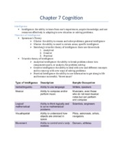 Notes Chapter 7 Cognition & 8.docx