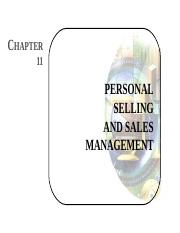 Lesson 10 - Personal Selling.ppt