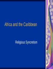 Africa and the Caribbean-2