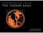 Clst105 Lecture 15 Powerpoint-Theban-and-Mycenaean-Sagas