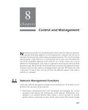 Optical Networks - _Chapter 8 Control and Management_94