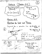 Lecture 22 (Notes)