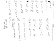 AntiDerivative WS & Answers