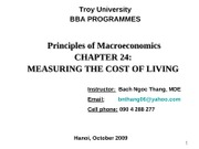 Chap.24_Measuring the Cost of Living