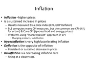 Inflation Lecture Notes