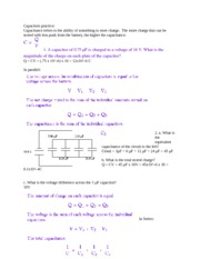 capacitor practice quiz answers