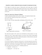 Chapter_11_Forced vibration single degree of freedom systems