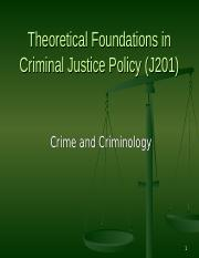 1 - Crime and Criminology.ppt