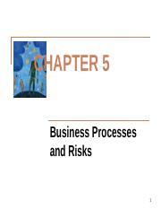 Chapter_5-Business_Processes_and_Risks_Key_Points_fall_12-2-2013