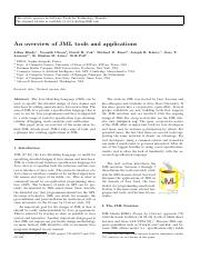 An overview of JML tools and applications.pdf